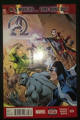 NEW AVENGERS (2013/Vol 3) #28 by Hickman & Deodato: TIME RUNS OUT - MARVEL