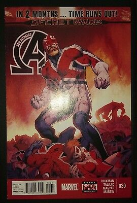 NEW AVENGERS (2013/Vol 3) #30 by Hickman & Talajic: TIME RUNS OUT - MARVEL