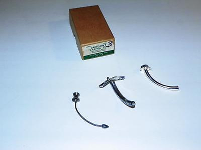 1800's STERLING SILVER TRACHEA TUBE SET MEDICAL SURGICAL INSTRUMENT TRACHEOSTOMY