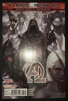 NEW AVENGERS (2013/Vol 3) #31 by Hickman & Walker: TIME RUNS OUT - MARVEL COMICS