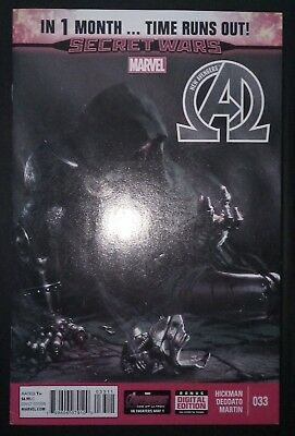 NEW AVENGERS (2013/Vol 3) #33 by Hickman & Deodato: TIME RUNS OUT - MARVEL