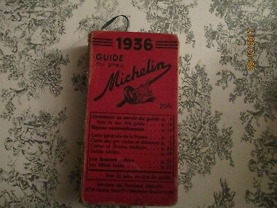 Guide Michelin 1936