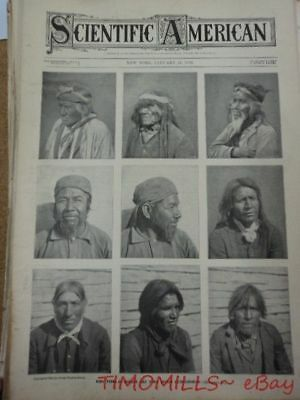 Antique Mohave Yuma Indian Magazine Photo Cover 1903