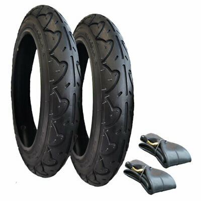 SET OF TYRES & TUBES FOR BUGABOO DONKEY 12 1/2 x 1.75-2 1/4 FREE 1ST CLASS POST