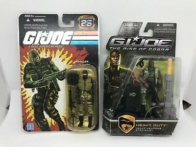 G.I. Joe Beach Head und GI Heavy Duty Actionfiguren Hasbro TOP