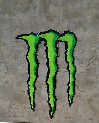 """Monster Energy Drink DECAL STICKER 5"""" x 3.75"""" Buy more Save more! Qty 1"""
