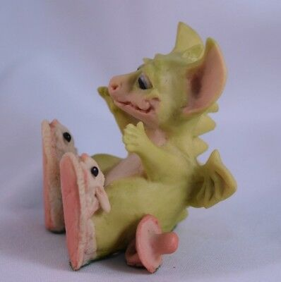 """1989 Pocket Dragons by Real Musgrave """"New Bunny Shoes """" RARE and HTF"""