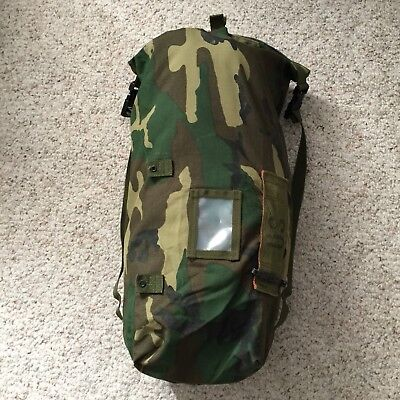 """US Army Military Nylon or Canvas Duffel Camping Bag 25""""x 14"""""""