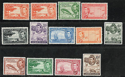 Cayman Islands SC# 100-111 VF XLH + 100a VF NH