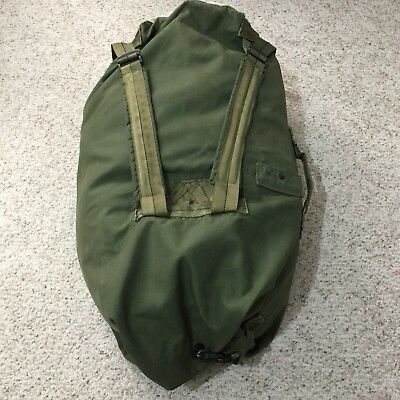 USA Army Military Canvas Duffel  Camping Survival Bag Made in USA