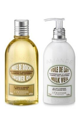 L'Occitane-Almond Shower Oil & Milk Veil Duo Pack