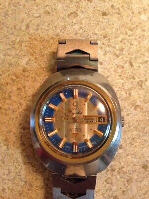 Vintage OMAX  7 Crystal Automatic 25 Jewels MEN'S Watch Day/Date, Swiss made