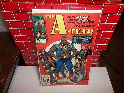 1984 Marvel Comics Group The A-Team #1 1st Collector's Item Issue
