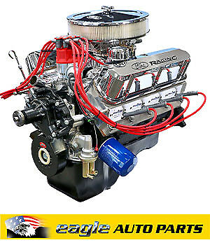 BluePrint Engines Ford Windsor 347, 400HP Complete Stroker Engine  # BP3474CT-1