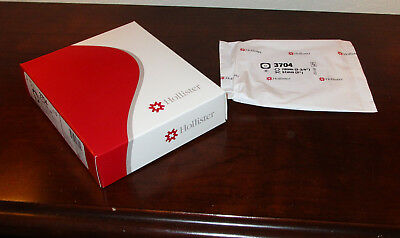 Box of 5 Hollister 3704 Centerpoint Lock Skin Barrier Cut-to-Fit Ostomy Wafers