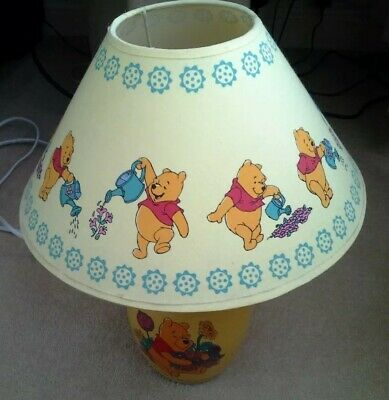 Winnie The Pooh Bedside Table Lamp