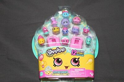 New Shopkins Cupcake Sprinkle Party 12 Exclusive Sprinkle Shopkins D'Lish Donut