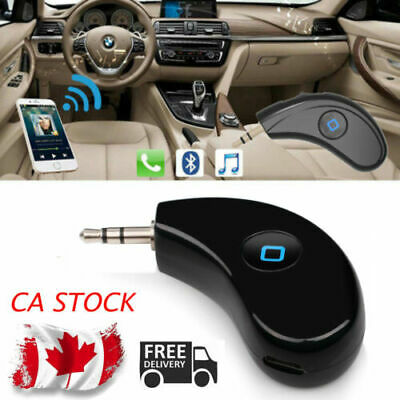 2in1 Wireless Bluetooth Transmitter Receiver Stereo Audio Music Adapter 3.5mm CA