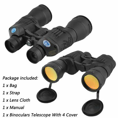 New 10 X 50 Large Binocular Hunting Bird Golf Sports Camping View Holiday Garden