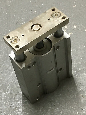 SMC MGPM80-175 Pneumatic big guided cylinder 80mm bore 170mm stroke