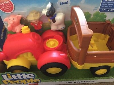 Little People Little Movers Toy And Pull Tractor