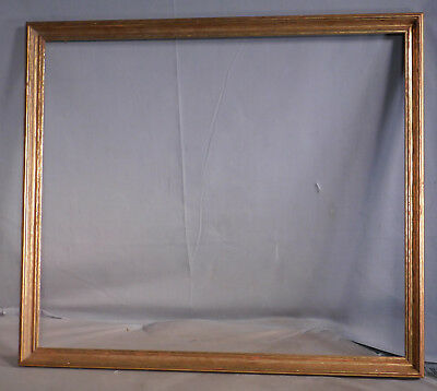 Antique Arts Crafts Bronze Metal Leaf Picture Frame KIT Watercolor 18x21 1920's