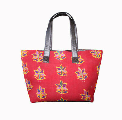 Indian Ethnic Vintage banjara bag boho gypsy tribal tote textile embroidery bag