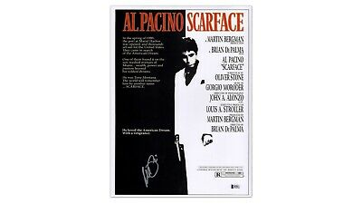 Framed Scarface Poster - Signed by Al Pacino