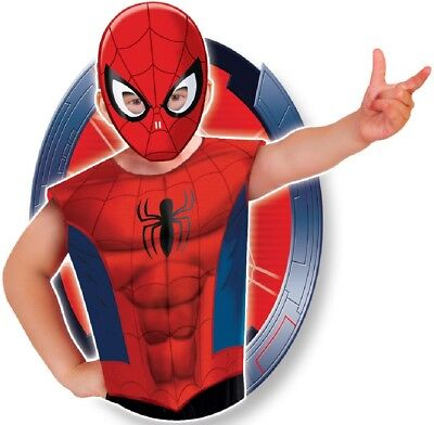 Boys Marvel Avengers Spider-Man Spiderman Party Bag Fancy Dress Costume Outfit