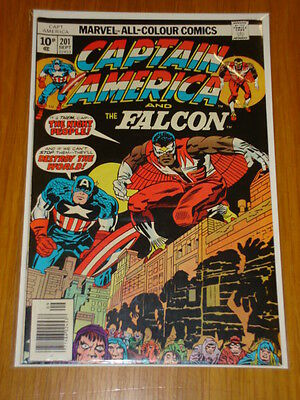Captain America #201 Marvel Comic Near Mint Kirby September 1976