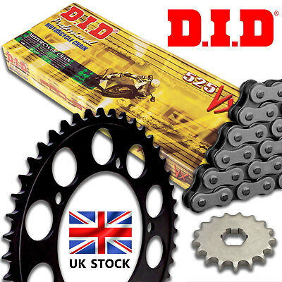Suzuki GW 250 Inazuma 2015 DID X Ring Chain and Sprocket Kit Set