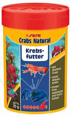sera Alimentation CRABES Cancer crevettes Natural 100 ml