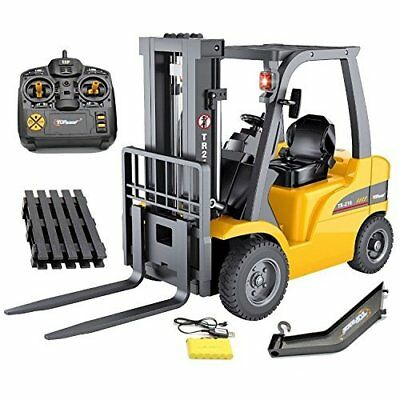 RC Forklift 8 Channel Full Functional High Powered Motors 1:10 Scale Heavy Metal