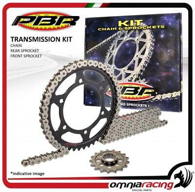 Kit chain and front + rear sprocket PBR EK Yamaha FZS600 FAZER (5DM) 1998>2003