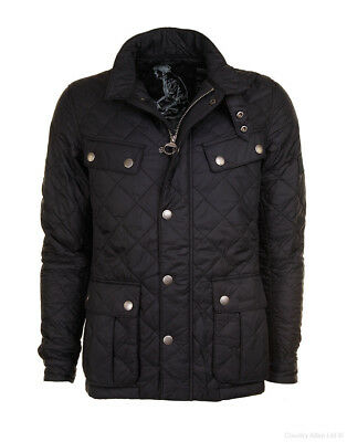Barbour International Men's Ariel Quilt Jacket - Black MQU0251BK11 Size L