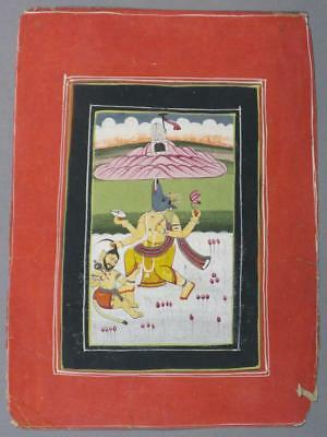 Miniature painting, India, 19th c. Lot 811