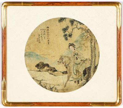 Chinese Painting on Silk Lot 299