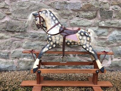 Stunning Rocking Horse Ideal Christening Gift Worldwide Delivery