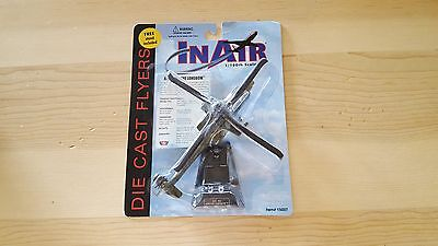 InAir Model AH-64D Apache Longbow Helicopter 1:100 scale Die Cast Flyers