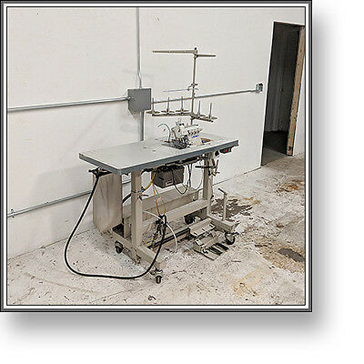 Juki MO-6716S 5 Thread Serger Industrial Sewing Machine + VERY NICE + NO RESERVE
