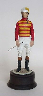 Prudence Hawkins Cold Painted Statue of a Jockey