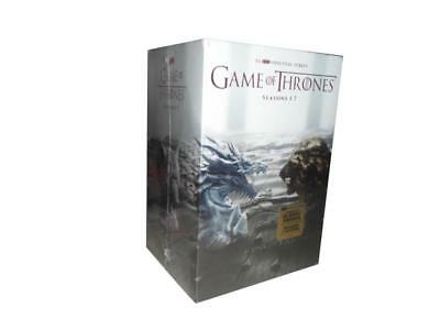 Game of Thrones: The Complete Seasons 1-7 (DVD, 2017, 34-Disc Set) 1 2 3 4 5 6 7