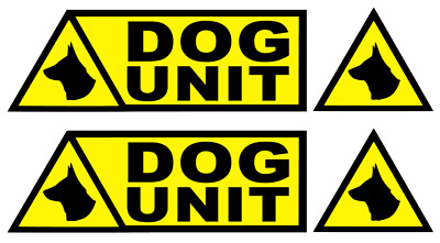 DOG UNIT MAGNETIC VEHICLE SIGN dum7 VARIATIONS AVAILABLE