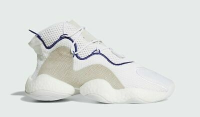 big sale 4d949 43c98 Adidas Originals Crazy BYW Boost Your Wear White Purple Basketball New  CQ0992