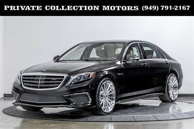 2015 Mercedes-Benz S-Class  2015 Mercedes-Benz S65 AMG 1 Owner Highly Optioned Low Miles