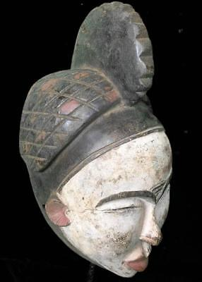 Old Tribal Anang  Mask    --  Nigeria
