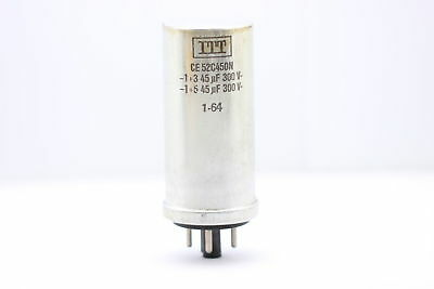 ELECTROLYTIC CAPACITOR RFT 100uF 650/385V NOS(New Old Stock) 1PC. CA15U1F240715