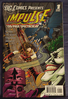 DC COMICS PRESENTS: IMPULSE #1 by DeZago, Van Sciver, and more - 100 PAGES!