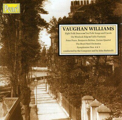 Vaughan Williams: Choral, Orchestral and Vocal Works -  CD 7DVG The Cheap Fast