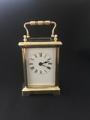 Vintage 8 Day Carriage Clock